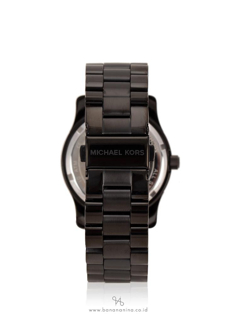 MICHAEL KORS MK6057 Runway Stainless Black