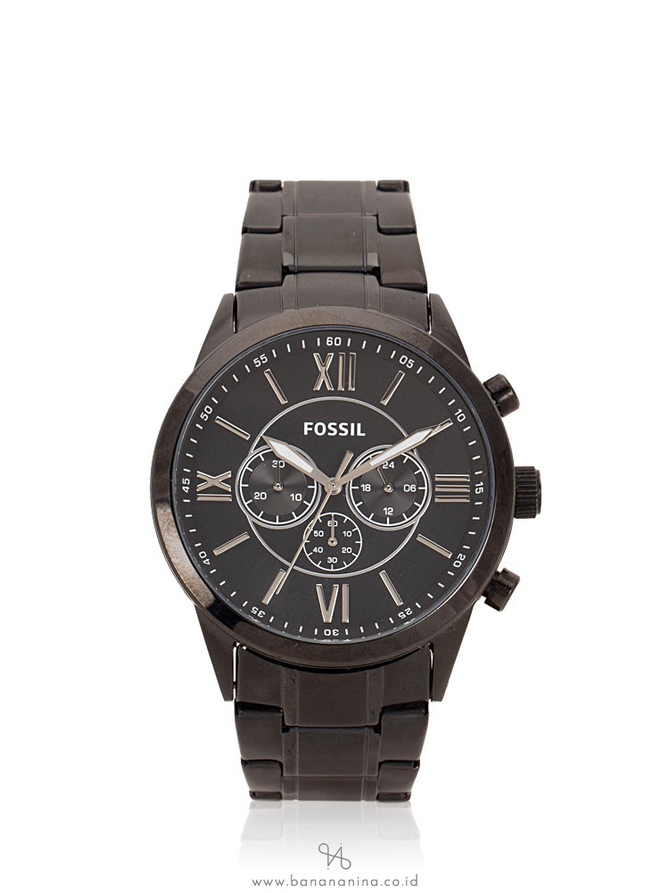 FOSSIL Men BQ1127IE Flynn Chronograph Stainless Black