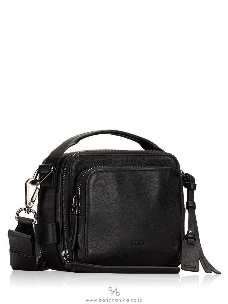 TUMI Sherri Square Crossbody Black
