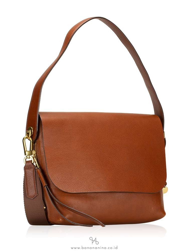 FOSSIL ZB7617200 Maya Large Flap Crossbody Brown