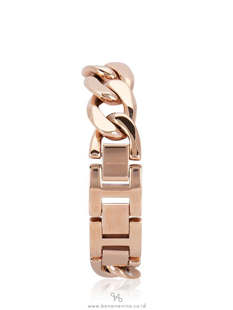 MICHAEL KORS MK3475 Parker Crystal Bracelet Rosegold