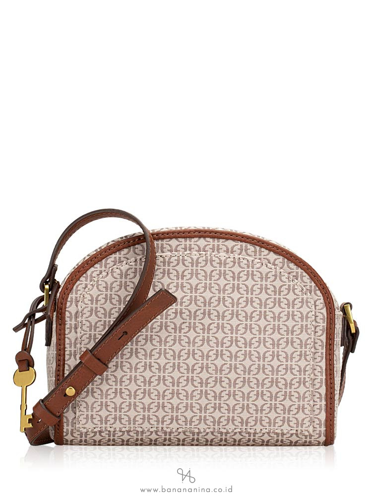 FOSSIL ZB7726939 Chelsea Crossbody Taupe Tan