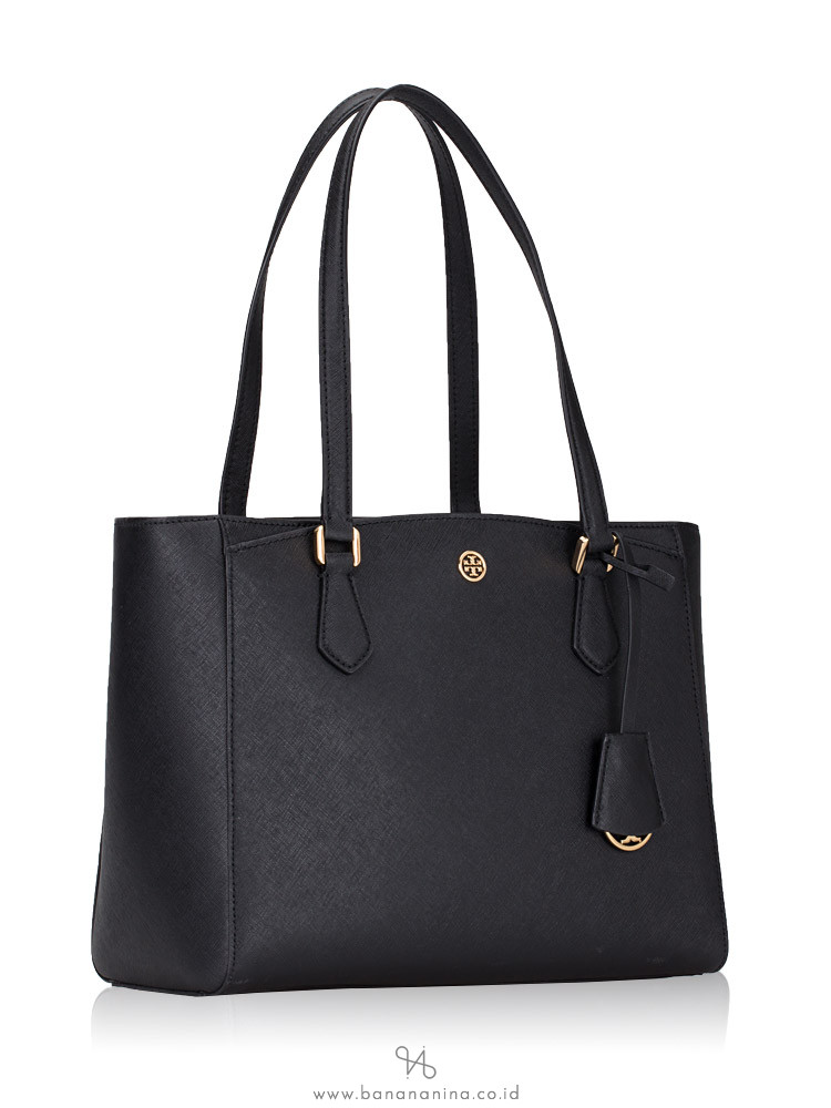 TORY BURCH Robinson Small Tote Black