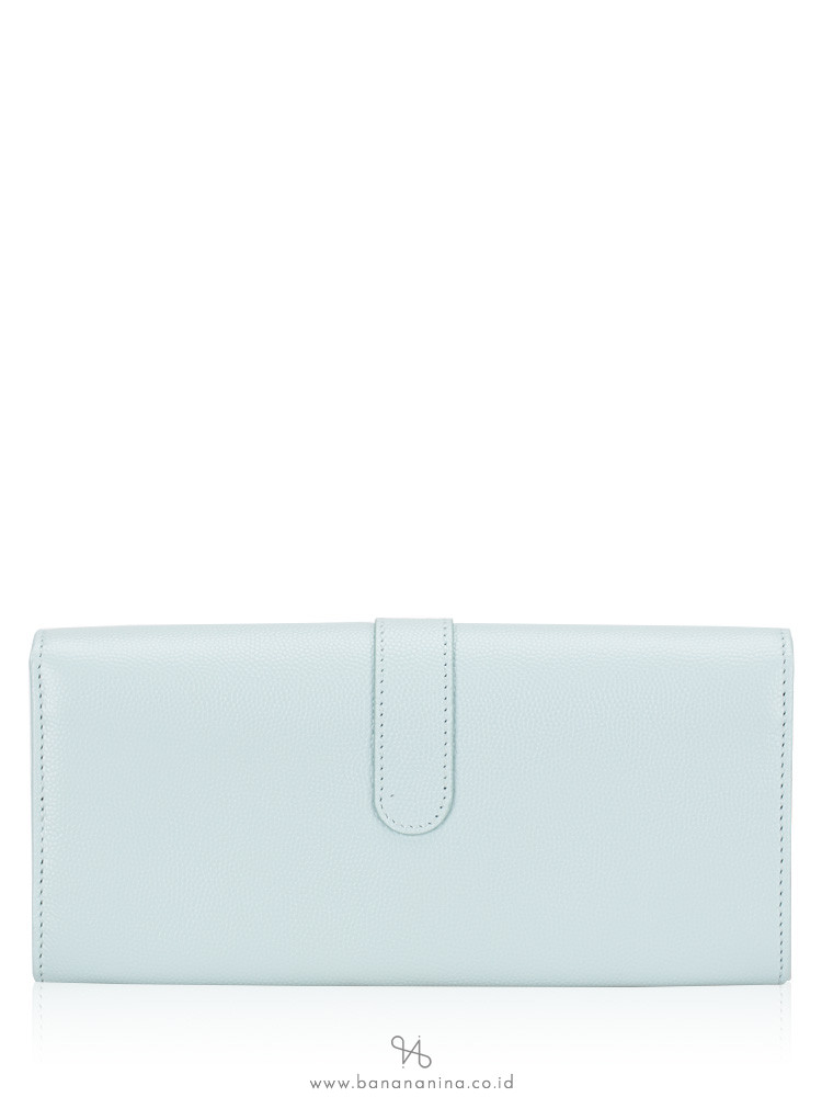 TOD'S Mini Rounded Wallet Blue
