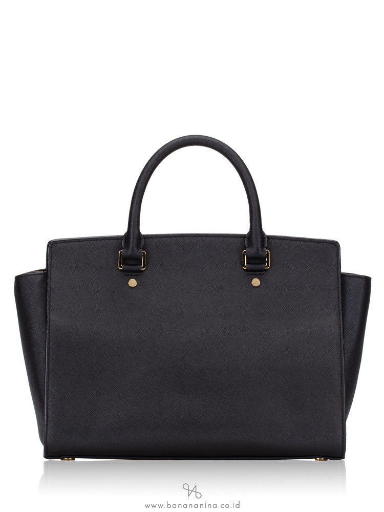 MICHAEL KORS Selma Large Satchel Black