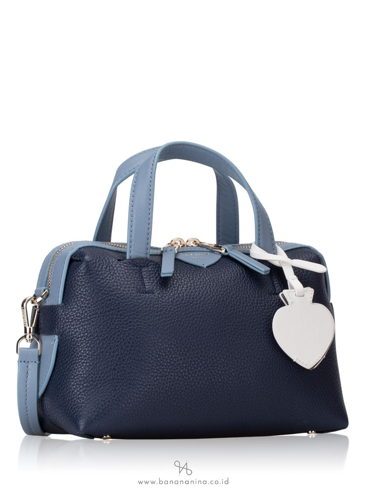 KATE SPADE Taffie Small Satchel Blazer Blue Multi