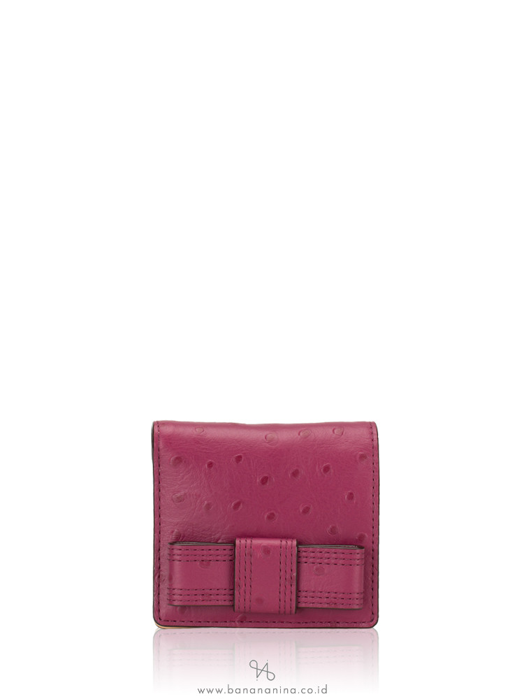 KATE SPADE Valencia Road Serenade Wallet Red Plum
