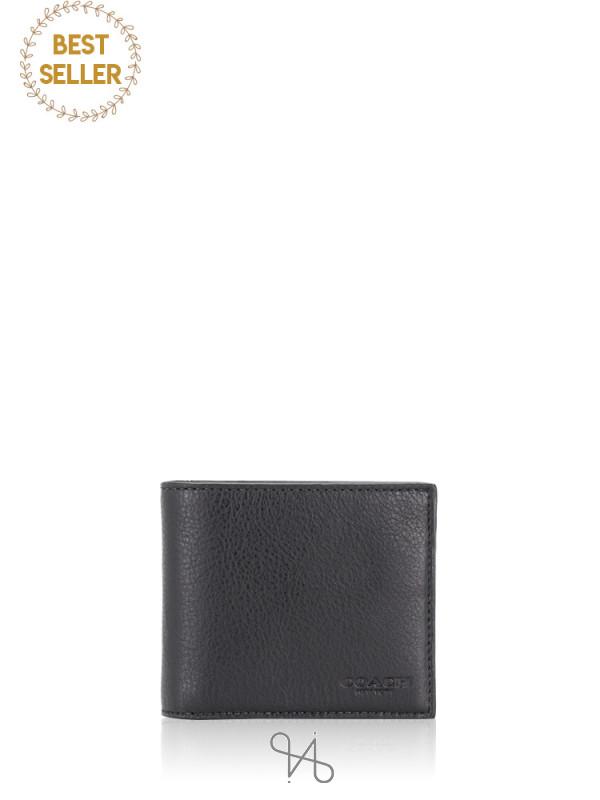 COACH Men 64118 Compact ID Gift Set Black