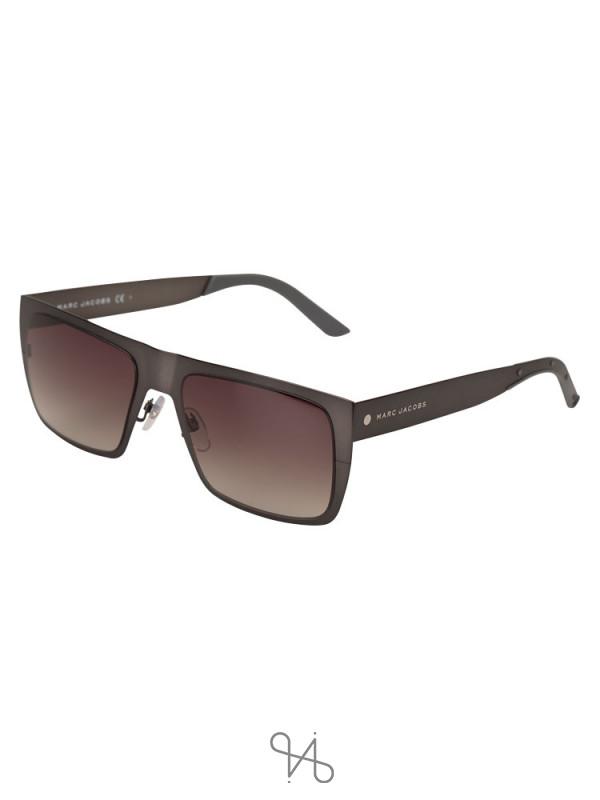 MARC JACOBS R80HA Rectangular Sunglasses Gunmetal