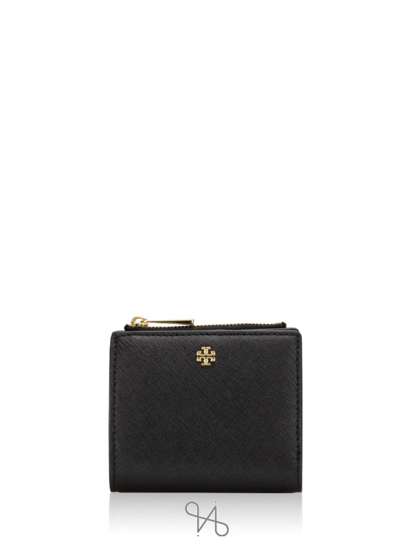 TORY BURCH Emerson Mini Wallet Black
