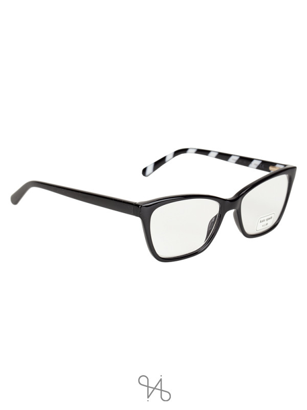 KATE SPADE Pava +1.50 Reading Glasses Black