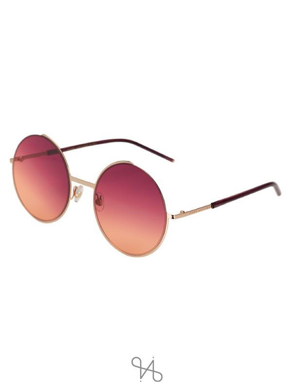 MARC JACOBS TM0V5 Round Sunglasses Fuchsia Gradient
