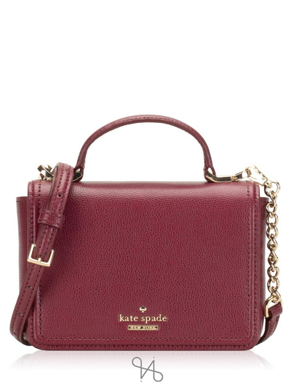KATE SPADE Patterson Drive Maisie Black Cherry