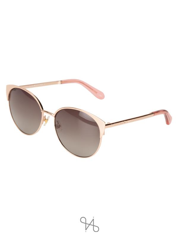 KATE SPADE Kaydee Sunglasses Rosegold Pink
