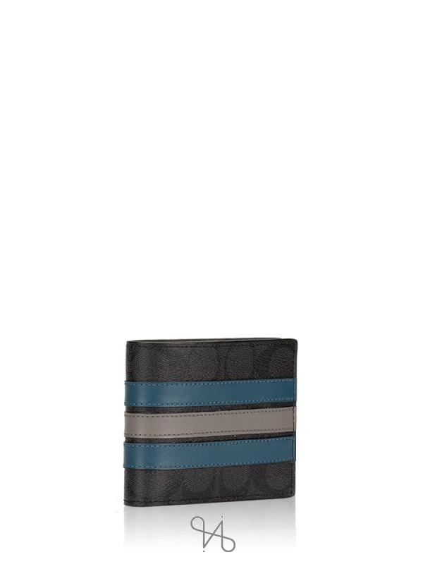 COACH Men 37944 Signature 3 In 1 Varsity Gift Box Set Black Mineral