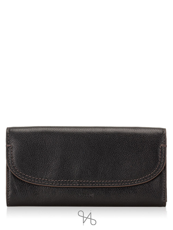 FOSSIL SWL3089001 Cleo Leather Clutch Black