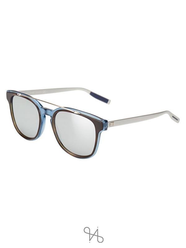 DIOR Homme Blacktie 211S Sunglasses Metallic Blue Silver