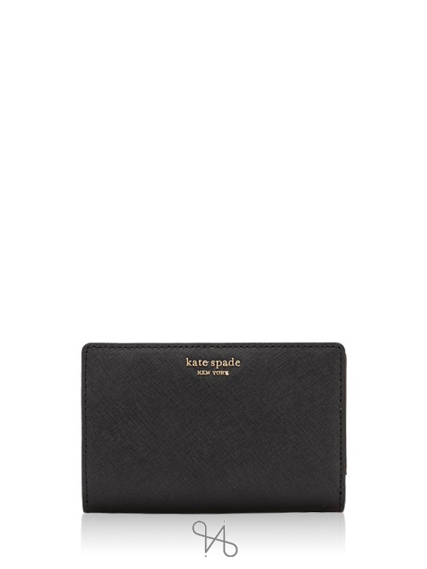 KATE SPADE Cameron Medium Bifold Wallet Black