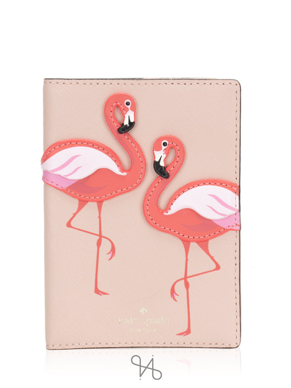 KATE SPADE By The Pool Passport Holder Multi