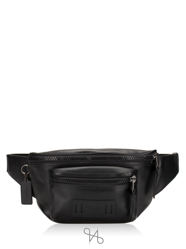 COACH 75776 Terrain Leather Belt Bag Black