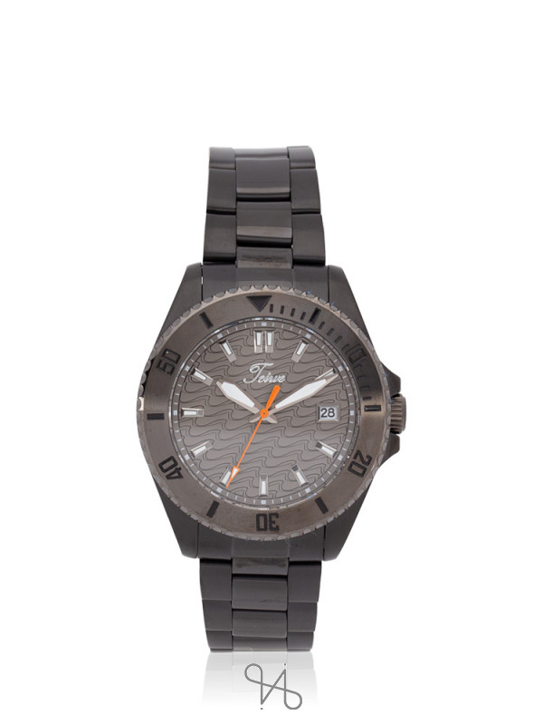 TEIWE Men TWC-18033 Gent Stainless Black