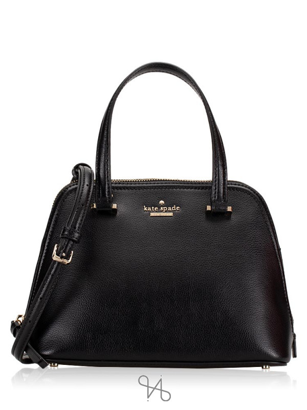 KATE SPADE Patterson Drive Small Dome Satchel Black