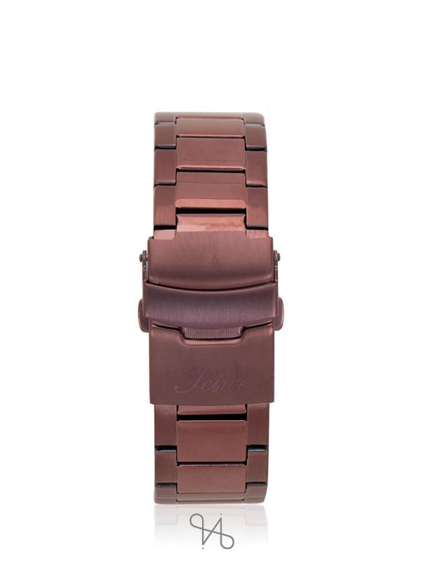 TEIWE Men TWC-18021 Gent Chronograph Stainless Brown