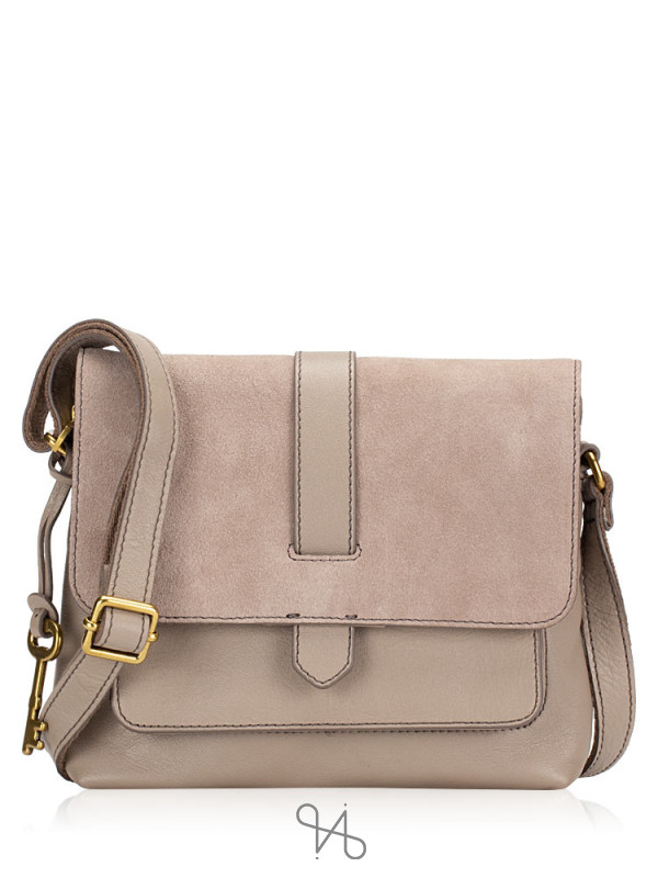 FOSSIL ZB7658263 Kinley Small Crossbody Light Taupe