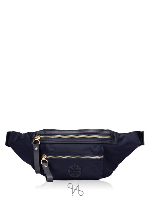 TORY BURCH Tilda Nylon Belt Bag Navy