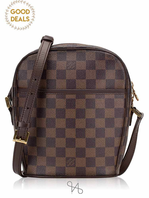LOUIS VUITTON Damier Ebene Ipanema PM