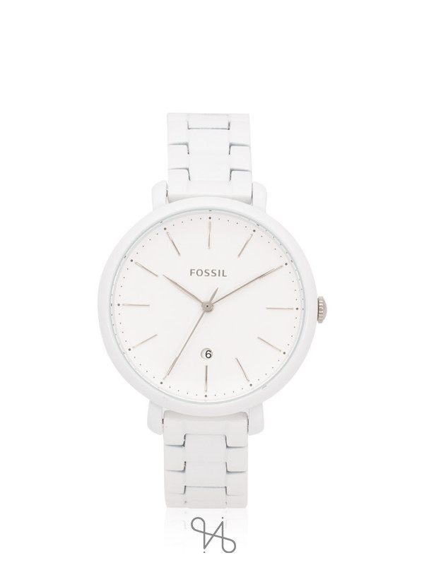 FOSSIL ES4397 Jacqueline Stainless White
