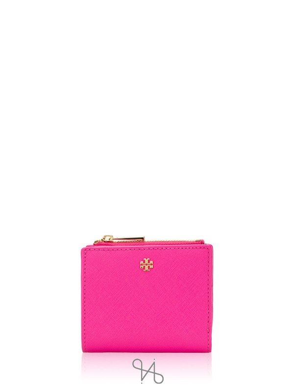 TORY BURCH Emerson Mini Wallet Crazy Pink