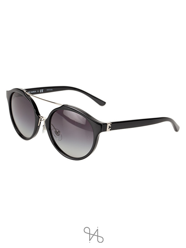 TORY BURCH TY9048 Sunglasses Black Silver