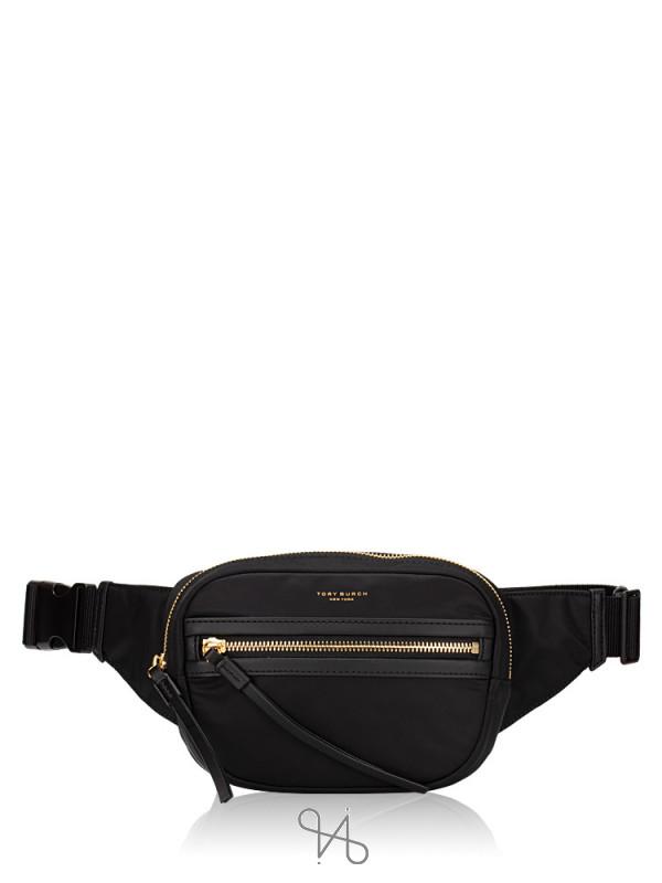 TORY BURCH Perry Nylon Belt Bag Black