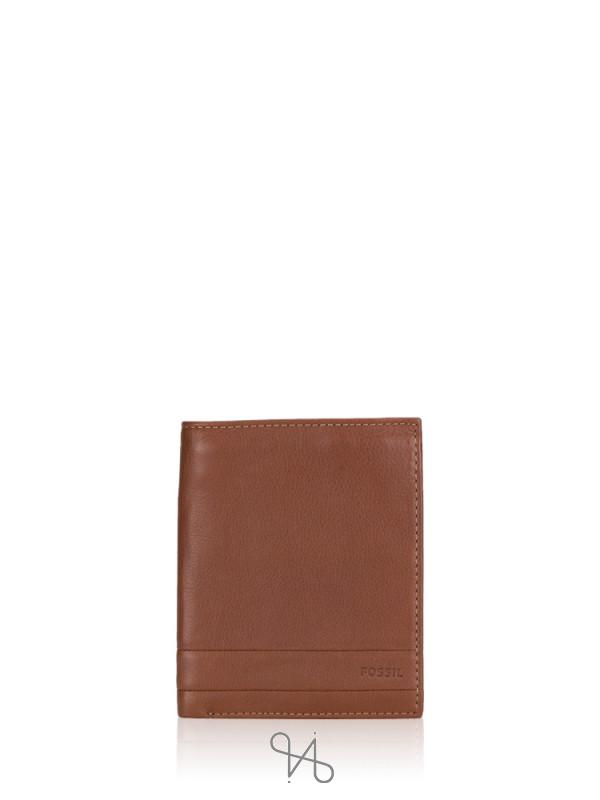 FOSSIL SML1397210 Lufkin Passport Medium Brown
