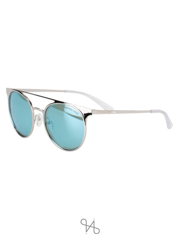 MICHAEL KORS 113725 Grayton Sunglasses Silver Blue