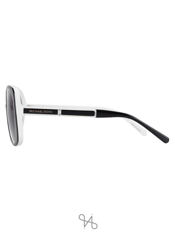 MICHAEL KORS MK2050 Ula Sunglasses Black White