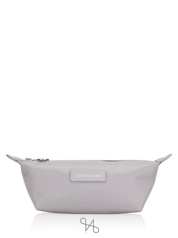 LONGCHAMP Le Pliage Cosmetic Pouch Light Grey