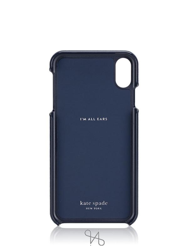 KATE SPADE iPhone XS Max Owl Applique Cases Multi