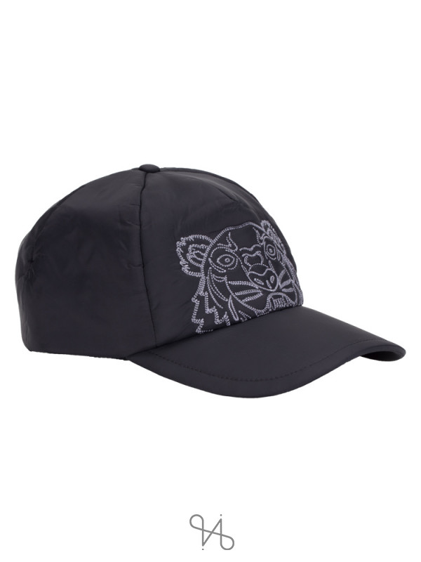 KENZO Tiger Kampus Nylon Cap Black