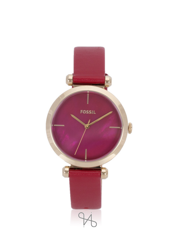 FOSSIL BQ3549 Tillie Leather Strap Red