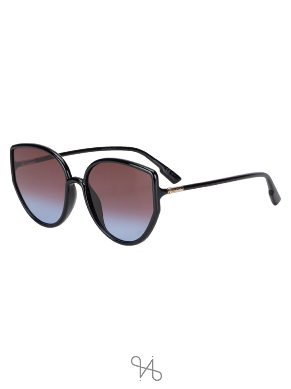 DIOR So Stellaire 4 Butterfly Sunglasses Black