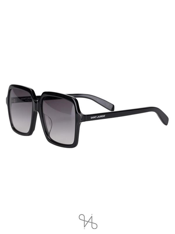 SAINT LAURENT SL174001 Classic Square Sunglasses Black