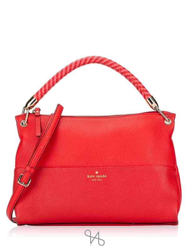 KATE SPADE Elliot Place Carmina Mandy Red