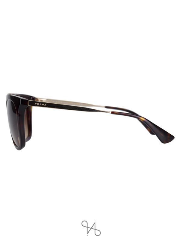 PRADA SPR 13Q Catwalk Sunglasses Havana