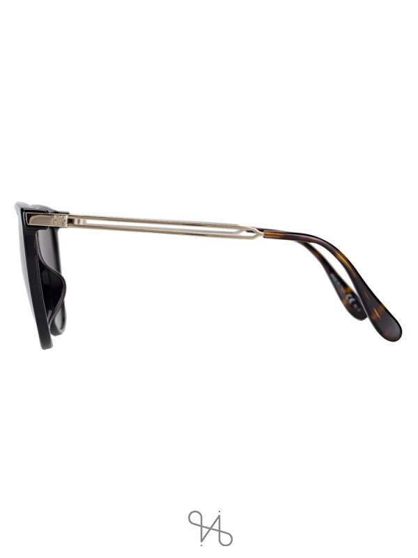 GIVENCHY GV7116FS Round Sunglasses Black Havana