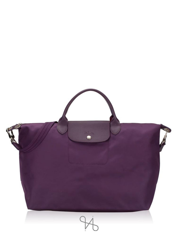 LONGCHAMP Le Pliage Neo Large SH Bilberry