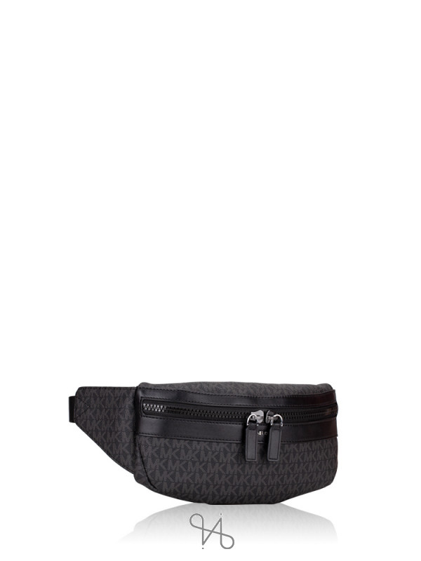 MICHAEL KORS Men Cooper Signature Belt Bag Black