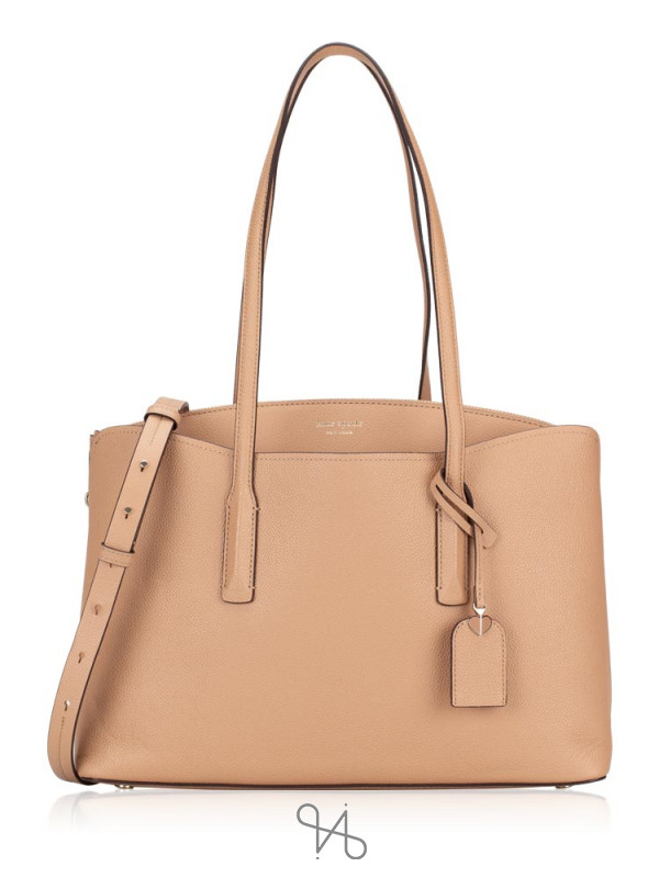 KATE SPADE Margaux Large Work Tote Light Fawn