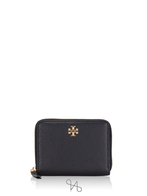 TORY BURCH Carter Mini Continental Wallet Black